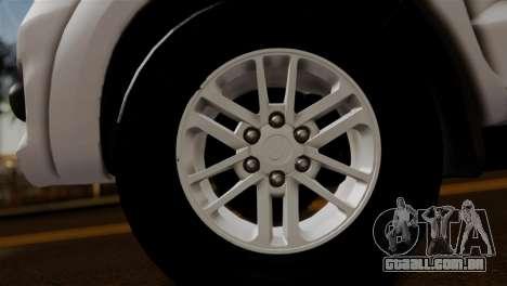 Toyota Hilux SW4 2014 Forca Tatica para GTA San Andreas vista direita
