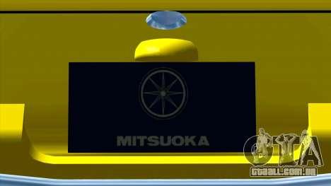 Mitsuoka Le-Seyde para GTA San Andreas vista interior
