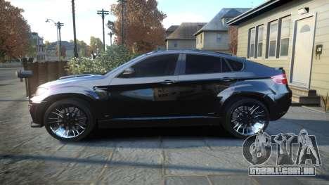 HAMANN BMW X6 2011 Tycoon EVO M v1.0 TSE para GTA 4 esquerda vista