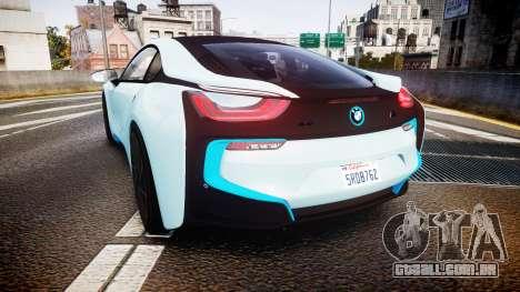 BMW i8 2013 para GTA 4 traseira esquerda vista
