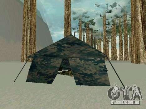 Tenda para GTA San Andreas segunda tela