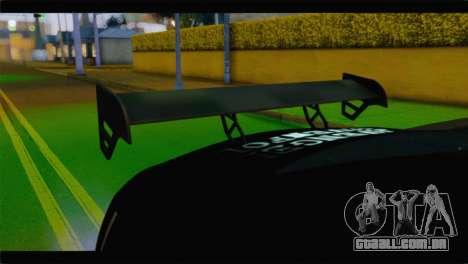 Nissan Skyline GTR Rockstar Energy para GTA San Andreas vista direita