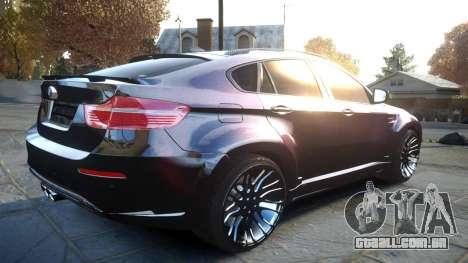 HAMANN BMW X6 2011 Tycoon EVO M v1.0 TSE para GTA 4 vista de volta