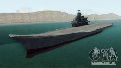 Admiral Kuznetsov Class para GTA San Andreas
