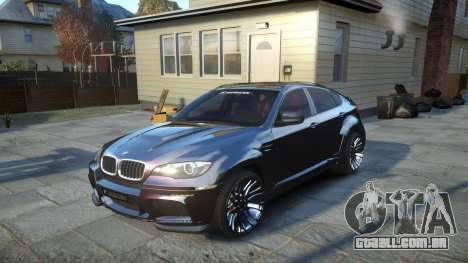 HAMANN BMW X6 2011 Tycoon EVO M v1.0 TSE para GTA 4