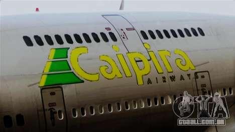 GTA 5 Caipira Airways para GTA San Andreas vista traseira