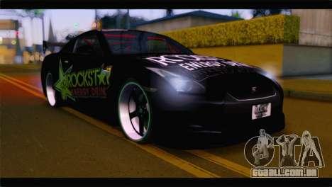 Nissan Skyline GTR Rockstar Energy para GTA San Andreas