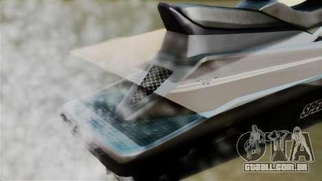 Seashark from GTA 5 para GTA San Andreas vista traseira