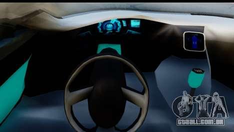 Audi A9 Concept para GTA San Andreas vista direita
