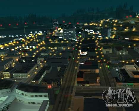 Project 2dfx 2.5 para GTA San Andreas terceira tela