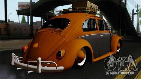 Volkswagen Beetle 1969 para GTA San Andreas esquerda vista