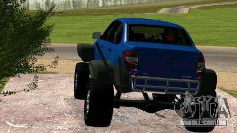 VAZ 2190 Conceder para GTA San Andreas esquerda vista