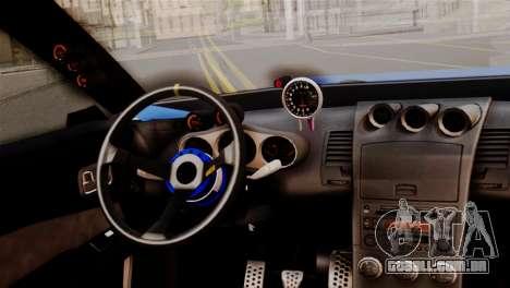Elegy Full Customizing para GTA San Andreas vista direita