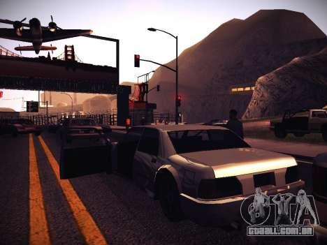 ENB Caramelo para GTA San Andreas sétima tela