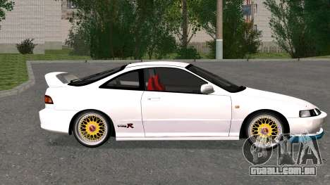 Honda Integra Type R 2000 para GTA San Andreas esquerda vista