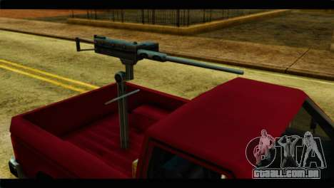 Bobcat Technical Pickup para GTA San Andreas vista direita