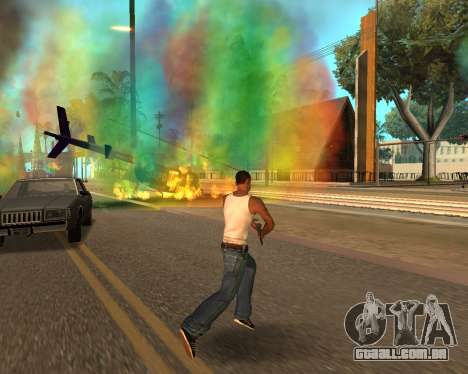 Rainbow Effects para GTA San Andreas