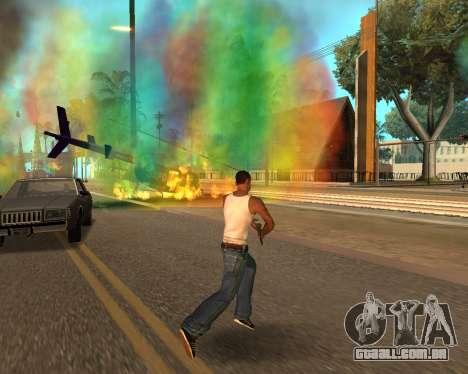 Rainbow Effects para GTA San Andreas