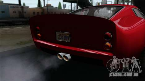 GTA 5 Grotti Stinger GT v2 IVF para GTA San Andreas vista direita
