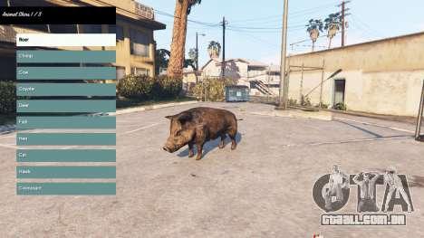 GTA 5 Mudando o personagem v2.0 segundo screenshot