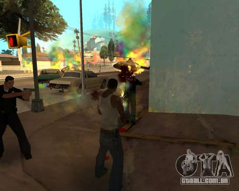 Rainbow Effects para GTA San Andreas segunda tela