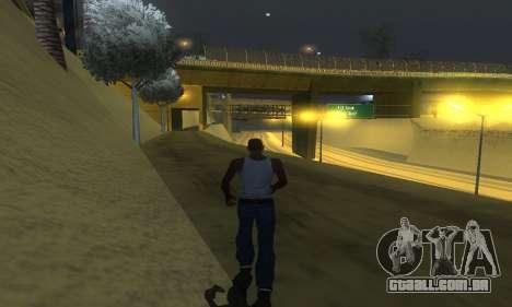 ENB Series v077 Light Effect para GTA San Andreas sexta tela