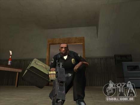 CABO de Battelfield 2 para GTA San Andreas segunda tela
