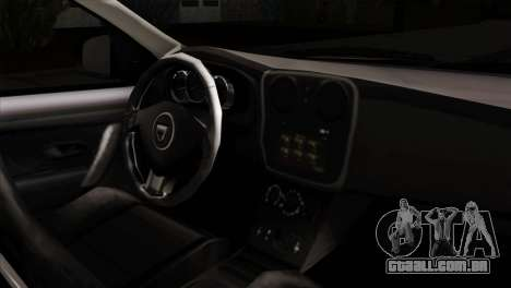 Dacia Logan MCV 2013 IVF para GTA San Andreas vista direita