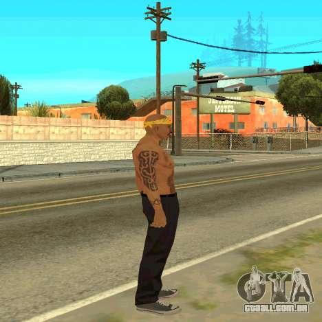 Macheter Vagos para GTA San Andreas terceira tela