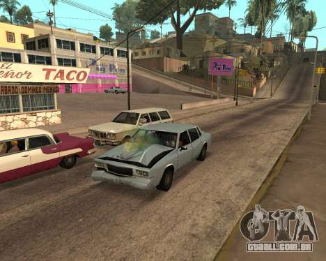 Rainbow Effects para GTA San Andreas sétima tela