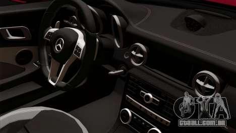 Mercedes-Benz SLK55 AMG 2012 para GTA San Andreas vista direita