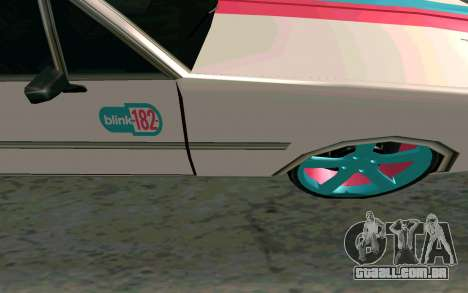 Clover Blink-182 Edition para GTA San Andreas vista interior