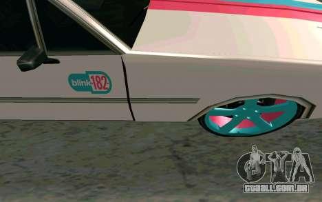 Clover Blink-182 Edition para GTA San Andreas vista interior