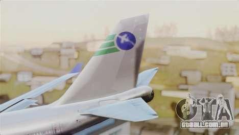 GTA 5 Caipira Airways para GTA San Andreas traseira esquerda vista