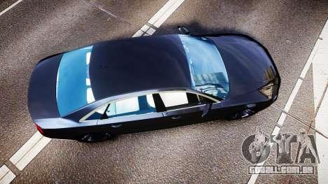 Audi A8 L 2015 Chinese style para GTA 4 vista direita