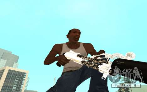 Skeleton Weapon Pack para GTA San Andreas sétima tela