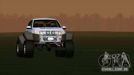 VAZ 2190 Conceder para GTA San Andreas traseira esquerda vista