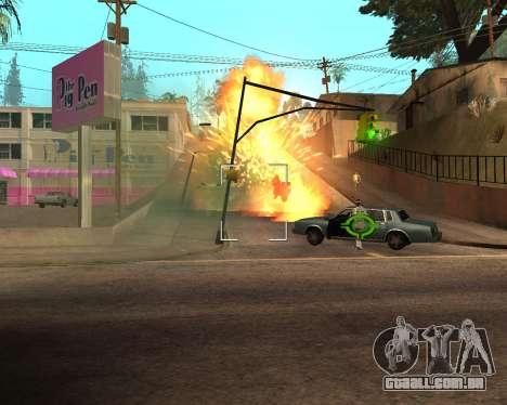 Rainbow Effects para GTA San Andreas décimo tela