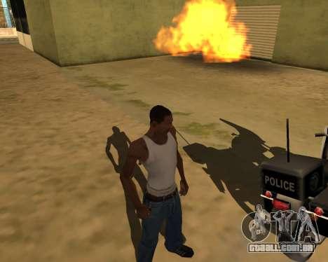 A sombra de pessoas e carros para GTA San Andreas terceira tela