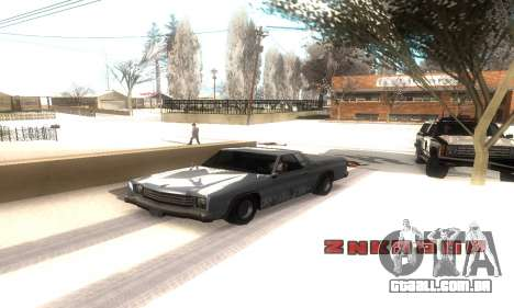 ENB Series v077 Light Effect para GTA San Andreas por diante tela