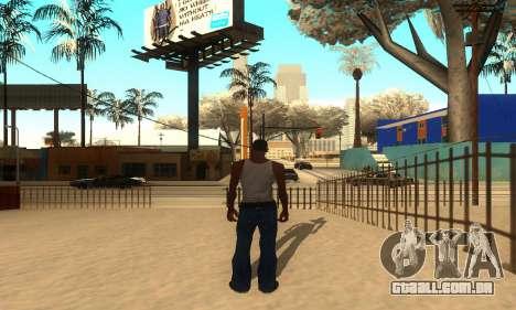 ENB Series para o meio do PC para GTA San Andreas terceira tela