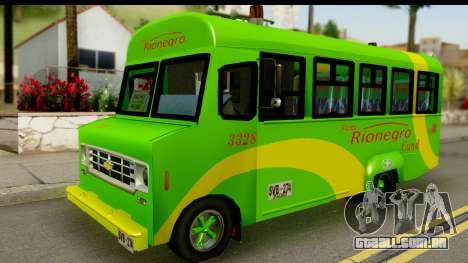 Chevrolet C30 Bus para GTA San Andreas