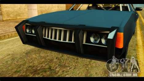 Clover Technical para GTA San Andreas vista traseira