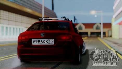 Volkswagen Jetta Stance para GTA San Andreas esquerda vista