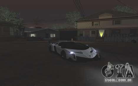 Colormod & ENBSeries para GTA San Andreas quinto tela