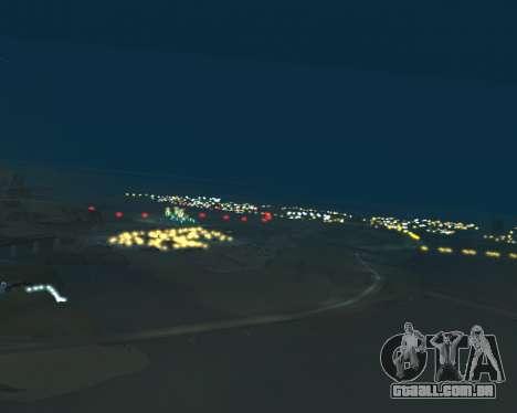 Project 2dfx 2.5 para GTA San Andreas quinto tela