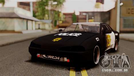 Elegy Full Customizing para GTA San Andreas vista superior