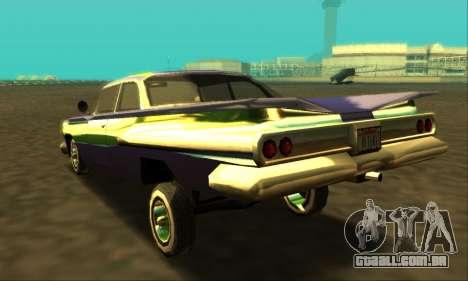 Luni Voodoo para GTA San Andreas esquerda vista