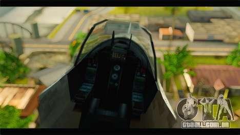 Mammoth Hydra v1 para GTA San Andreas vista traseira