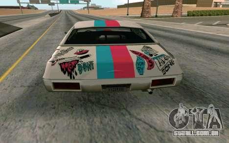 Clover Blink-182 Edition para GTA San Andreas vista direita